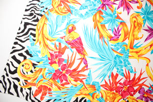 St. John Silk Tropical Scarf