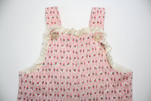 Baby 70's Quilted Overalls