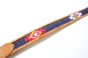 Guatemalan Leather & Woven Belt