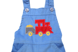 Corduroy Train Overalls