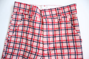 70's Plaid Corduroy Bells