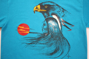 80's Native American Sunset Tee