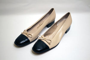 Ferragamo Cap-Toe Pumps