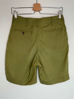 High Waisted Boy Scouts Shorts