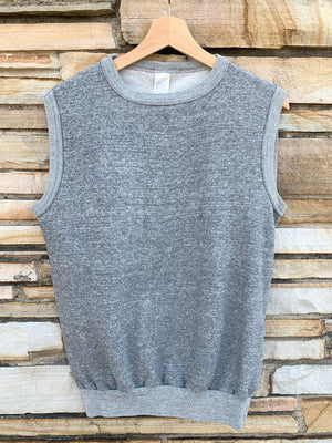 Gray Muscle Sweatshirt