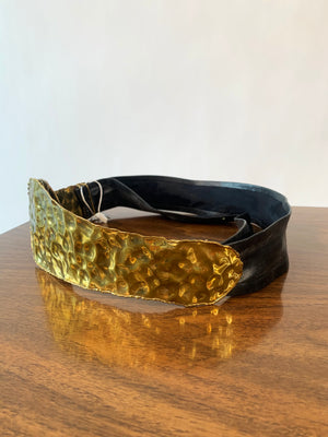 Hammered Brass Belt