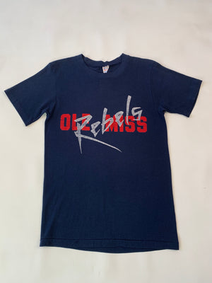 Paper Thin Navy Rebels Tee