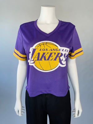 LA Lakers Cropped Jersey