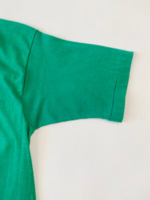 70's Soft & Thin Kelly Green Tee