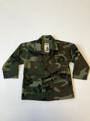Kiddo Super Cool Kids Camo Shirt Jacket - 8