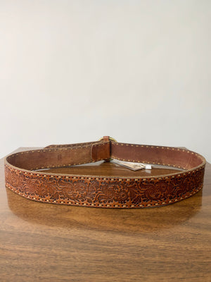 Ralph Lauren Leather Western Belt