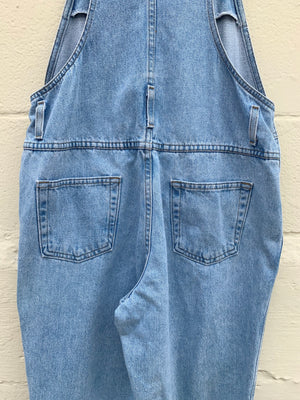 90's Stonewashed Classic Overalls - M