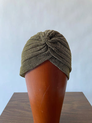 Gold Knit Turban