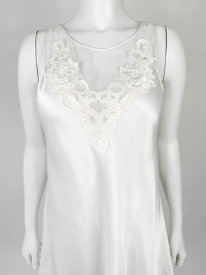 Ivory Silky Nightie