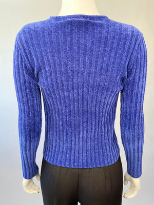 1990's Cozy Chenille Top