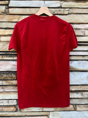 Super Soft Red Godspell Tee Shirt - M