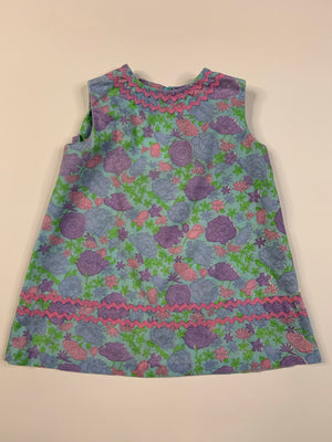 Baby 60's Floral Dress