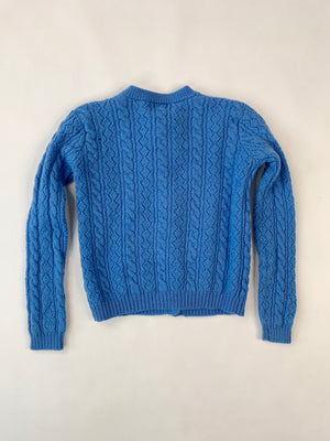 1970's Kiddo Cable-Knit Cardigan