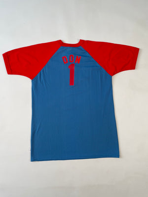 Blue & Red Lang's Mesh Jersey