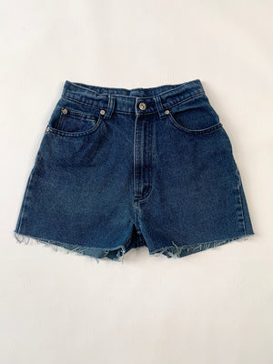 High-Rise Texas Denim Cut-Offs