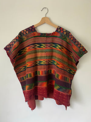 Beautiful Huipil Pullover Top - S/M/L