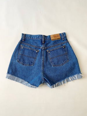 Studded Denim Cut-Offs