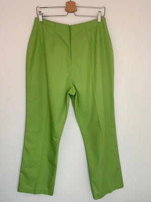 1960's Lime High Waisted Trousers