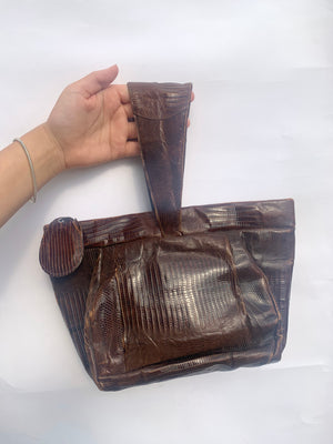 1940's Leather Purse