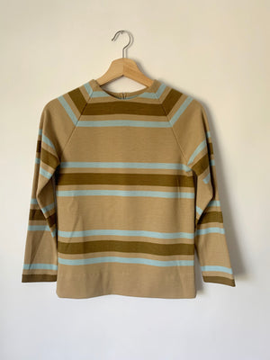 Super Pretty 60's Striped Knit Top - S