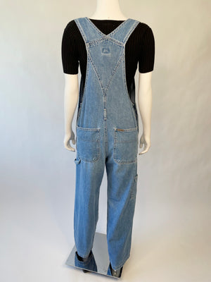 1990's Thrashed Calvin Klein Overalls