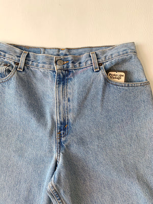 1990's Light Wash Levi's 550 Jeans