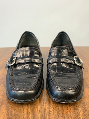Brighton Black Loafers