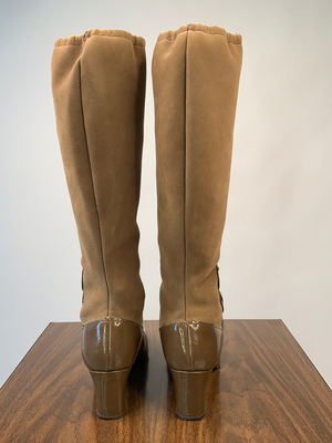 1960's Brown Go Go Boots