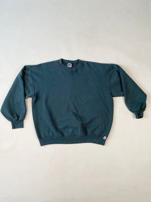 Greenish Black Russell Sweatshirt