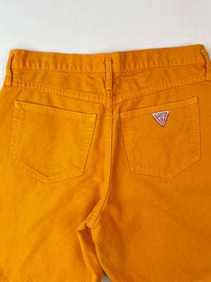 Amazing Mustard Guess Shorts