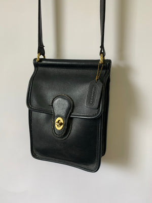 90's Coach Leather Murphy Flap Bag
