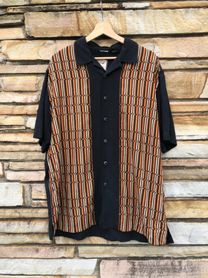 Black & Orange Kramer Shirt - XL