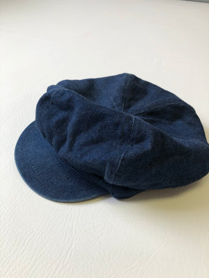 1970's Newsboy Denim Cap