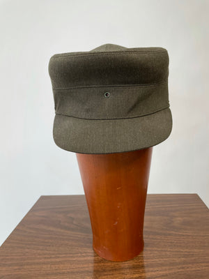 Olive Structured Cap