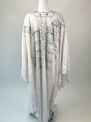 Super Special White Eyelet Caftan