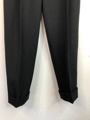 High Waisted Black Trousers