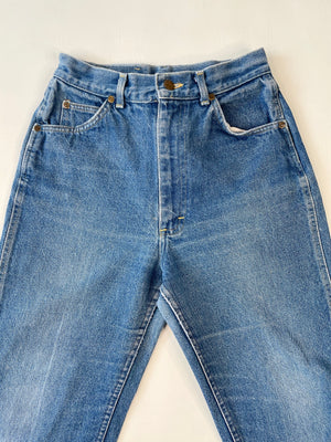 1980's High Rise LEE Cropped Jeans