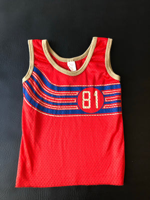 Kiddo Super Cute 1980's 81 Jersey Tank