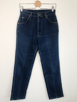 1980's Soft & Stretchy Lee Dark Wash Jeans