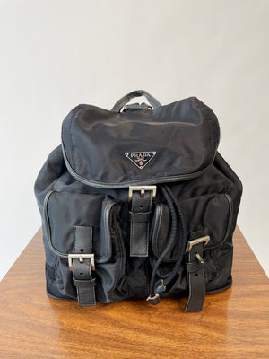 Y2K Logo Backpack