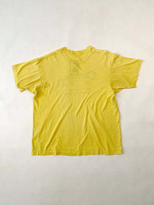 Thrashed Paper Thin Yellow Century 21 Tee