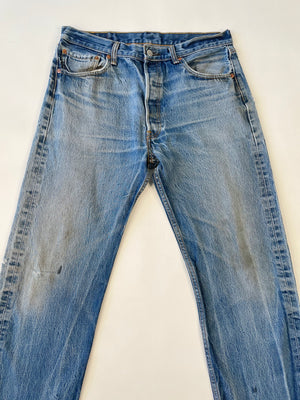 Levi's Worn-In 501 Jeans
