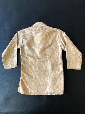 Kiddo Golden Paisley Tunic
