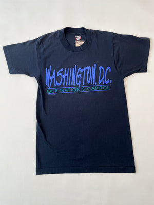 Washington D.C. Puff Paint Tee