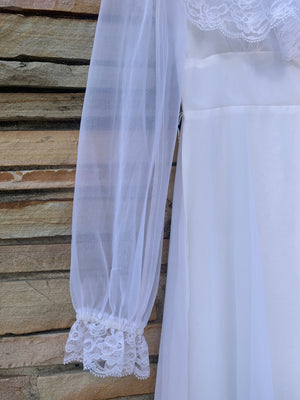 Angel White Maxi Dress - S